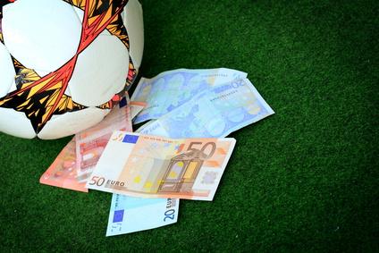 Ballon et billets de banque